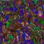"Ela Shah, ""Wiggling Warrior,"" 2010. Est. Value: $500"