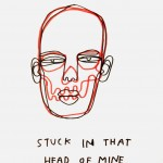 "Rikard Bjorkdahl, ""That Head of Mine,"" 2009. Est. Value: $500"