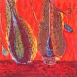 """Tara Sabharwal, """"Red Rain,"""" 2012. Est. Value: $500"""
