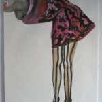 """Nida Abidi, """"Redress,"""" 2010. Est. Value: $600"""