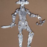 "Mike Estabrook, ""Mother Anubis,"" 2012. Est. Value: $600"