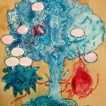 "Samanta Batra Mehta, ""Conference of the Birds,"" 2012. Est. Value: $700"