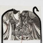 """Vaidehi Kinkhabwala, """"Metamorphosis, Distortion, Progression,"""" 2009. Est. Value: $500"""